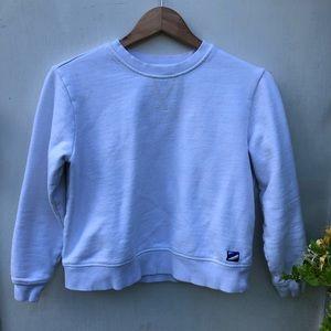 Vintage White Crewneck Sweatshirt